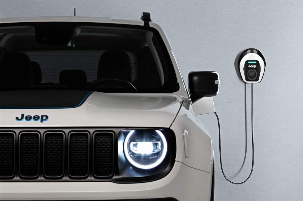 100% hibrid, 100% Jeep